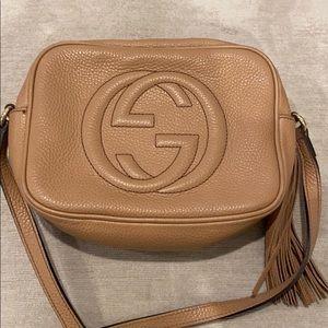 Soho Leather Disco Bag - GUCCI